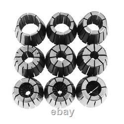 10Pcs ER32 Sp Collets Set 2/4/6/8/10/12/16/18/20mm + MT3 M12 ER32 Collet ChuckG9