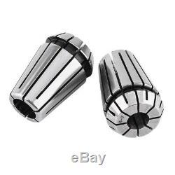 10X10Pcs ER20 Precision Spring Collet Set CNC Milling Lathe Tool ER20 Spri Q6M0