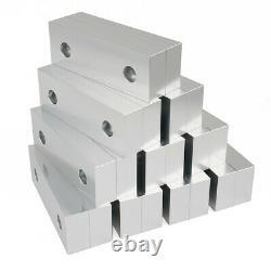10 Packs 20pcs 6 x 2 x 1 Standard Aluminum Soft Jaws Set Fits Kurt 6 Vises