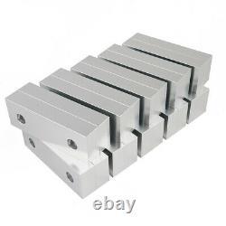 10 Set 20pcs 6 x 2 x 1 Machinable Standard Soft Jaws Set For Toolex Kurt Chick