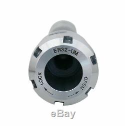 12 Pcs/Set ER32 Collet + R8 Bridgeport Shank + Wrench in Fitted Box, #0223-0974U