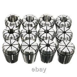 12pcs ER32 Chuck Collet 1/8 to 3/4 Inch Spring Collet Set For CNC Milling Lathe