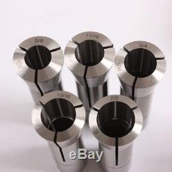 13Pcs Precision R8 Collets Set 1/8 7/8 Mill Chuck Holder For Bridgeport. 0006