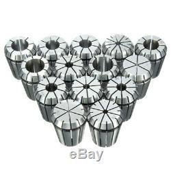 14pcs ER32 Chuck Collet 1/16 to 3/4 Inch Spring Collet Set For CNC Milling Lathe