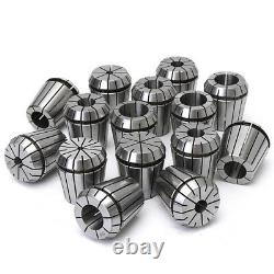 15Pcs 1/8 To 1 Inch ER40 Spring Collet Set For CNC Milling Lathe Tool