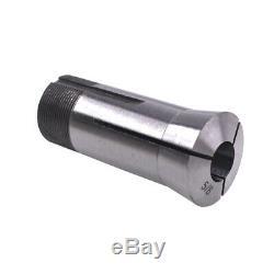 15pcs 0.0006 1/8-1 High Precision 5C Imperial Round Collet Set