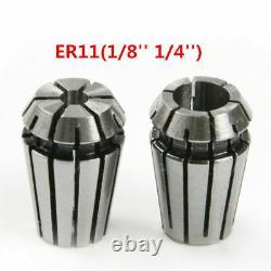 15pcs ER11 Precision Spring Collet Set for CNC Engraving Machine Lathe Mill Tool