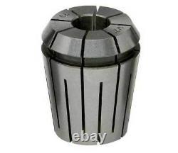 17 Pcs. GS Sowa ER 32 Inch/Fraction Steel Sealed Coolant CNC Collet Set-2000 PSI