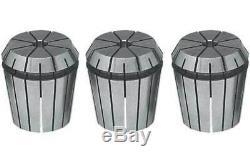 18 Pcs. GS Sowa ER32 3mm-20mm x 1mm. 0002 (Avg.) TIR Precision CNC Collet Set