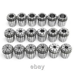 18pcs 3-20mm Collects Set MTB3 ER32 Collet Chuck Set 1/2 Inch Thread with
