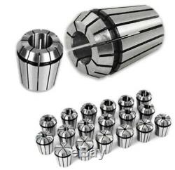 19PCS ER32 COLLET SET 2MM to 20MM in METRIC ACCURATE HIGH ACCURACY CNC 0.003mm