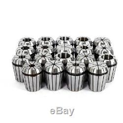 19PCS ER32 Precision Spring Collet Set 2-20mm for CNC Milling Engraving machine
