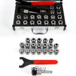19PCS ER32 Precision Spring Collet Set 2-20mm for CNC Milling Engraving machine