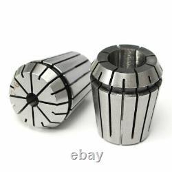 19Pcs ER32 Precision Spring Collet Set Milling Lathe CNC Chuck Bit Holder O