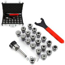 19pcs ER32 2-20mm Spring Collet Set for CNC Milling Lathe Tool Engraving machine