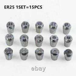 1Set ER Collet Chuck ER11 ER16 ER20 ER25 ER32 ER40 Milling Tool Holder Engraving