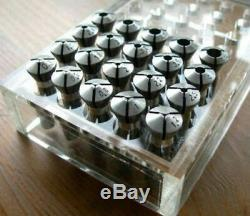 1 Set 20pcs Spring Collets Collet for 8mm Watchmaker Lathe New Free Shipping