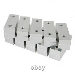 20PCS 6x2x1 Machined Aluminum Soft Jaws Kurt Set Fit Kurt 6 Vises