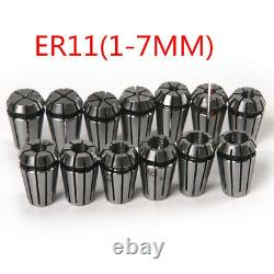20XHigh Quality 15pcs/set ER11 Precision Sp Collet Set For CNC Engraving