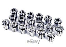 21pcs ER40 Precision Spring Collet Set 626mm for CNC Engraving Spindle Motor