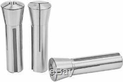 23Pcs Precision R8 Collets Set Mill Chuck Holder Kit 1/16-3/4.0006 Bridgeport