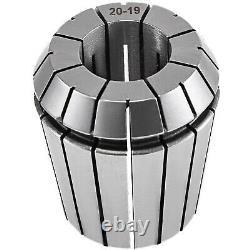 23Pcs Spring Collet Set ER40 Collet Chuck Holder Wrench for CNC Milling Lathe