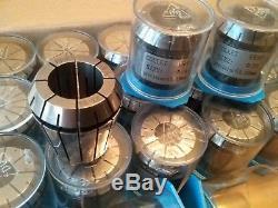 23pcs ER40 metric collet set, collets 4mm 26mm, 0.008mm TIR #ER40-SET23M-NEW
