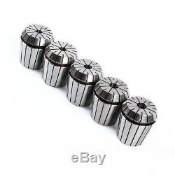 24Pcs ER40 Spring Collet Set CNC Lathe Tool 1/4'' 1/8'' 1/2' Milling 3-26mm