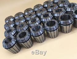 24pcs ER40 Spring Collet Set 3-26mm For CNC Milling Lathe Tool CAPT2011