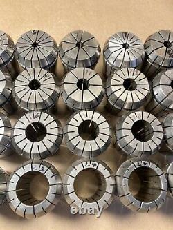28pcs Precision ER40 Spring Collet Set 2-26mm for CNC Milling Lathe Tool