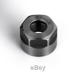2 pcs CAT50 high precision ER16 collet chuck Set Tool for CNC Milling Holder