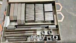 34 Pcs Pro-Series 16 -12mm T-Slot Clamping Kit Bridgeport Mill Set premium tool
