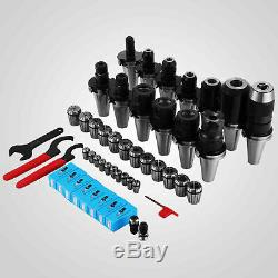 35Pcs CAT40 ER32 ER16 Tooling Kit Fadal Hass CNC Milling Chuck Collet Holder Set