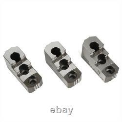 3PCS 10 Hard Chuck Jaw Set for CNC Lathe Chucks Chuck Jacket 20CrMnTi
