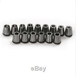 3X(ER25 16PCS/SET Spring Collet Set For CNC milling lathe tool Engraving W6L9)