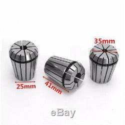 3X(Er32 Inch Milling Cutter Chuck 12Pcs/Set Precision Imperial Er32 Collet B5U8)