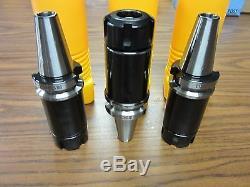 3pcs BT30-ER25 Loner COLLET CHUCK W. 100mm GAGE LENGTH-$129.00 Tool Holder Set