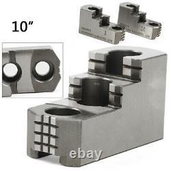 3pcs Hard Lathe Chuck Jaw Set 20CrMnTi 10'' fit for CNC Kitagawa B-210 BEST SELL