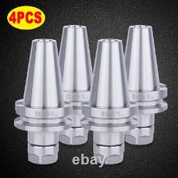 4PCS BT40 ER20 2.75 Collet Chuck Set 20000RPM For CNC Milling G2.5@20000RPM New