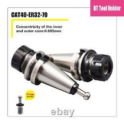4pcs BT40-ER32 Collet Chuck 4 Gage Length Milling Tool Holder Set BT40-ER32-100