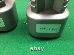 4pcs CAT40-ER20-4 COLLET CHUCKS Tool Holder Set