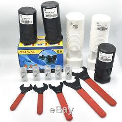 5PCS BT40 ER16 ER25 ER32 ER40 Collet Chuck Tool Holder Balanced ER20-150mm Set2