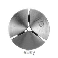 65 PCS R8 Collet Set Fractional 1/8 to 7/8 High Precision Lathe KI