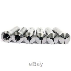 6Pcs Precision R8 Collet Set 1/8-3/4 Inch Mill Chuck Holder R8 Collet Chuck Hold