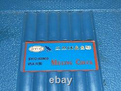7 PCS R-8 COLLET CHUCK SET 1/8 -1, With SYIC-83800 MILLING R8XEOC25, 7/16 NF20