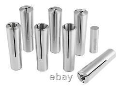 7 Pcs Morse Taper #3 MT3 Round Collet Set, # 0223-0312