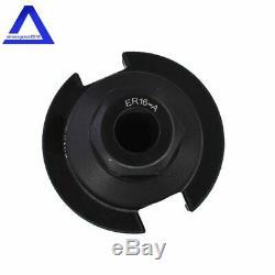 8Pcs ER Collet Chuck CAT40-ER16-Length 2.76 Thread 5/8-11 Tool Holder Set