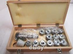 Bison 7-171-4108 R8 To ER40 Collet Chuck Set 17pcs self-releasing system
