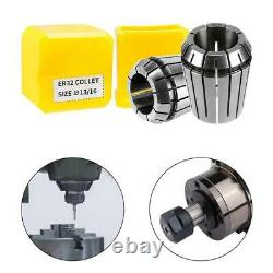 Chuck Collet Spring Set 0.008 Accuracy For CNC Lathe Tools Engraving Machine ER8
