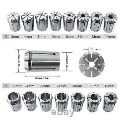 Collet Chuck Holder CNC 17-piece Engraving Machine 10pcs/Set Milling Tool